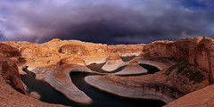 Reflection Canyon Rainbow