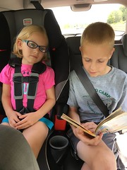 IMG_7202-090218 (octoberblue13) Tags: reading books car back seat