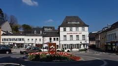 Centrum Saarburg met restaurant Saarburger Hof (Gerrit van der Linde Oldebroek) Tags: saarburg restaurant saarburgerhof