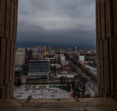 Almaty (free3yourmind) Tags: almaty kazakhstan city cityscape view clouds cloudy above