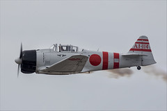 CCF T-6J Harvard IV (Mitsubishi A6M Zero) - 04 (NickJ 1972) Tags: mcas yuma airshow 2019 aviation toratoratora tora northamerican t6 texan harvard iv n15797 ai114