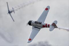 CCF T-6J Harvard IV (Mitsubishi A6M Zero) - 05 (NickJ 1972) Tags: mcas yuma airshow 2019 aviation toratoratora tora northamerican t6 texan harvard iv n15797 ai114
