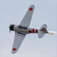 CCF T-6J Harvard IV (Mitsubishi A6M Zero) - 07 (NickJ 1972) Tags: mcas yuma airshow 2019 aviation toratoratora tora northamerican t6 texan harvard iv n15797 ai114