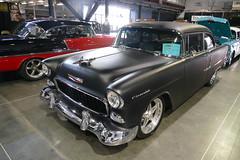 Tri Five Chevys (bballchico) Tags: chevrolet trifive sacramentoautorama carshow 1955 chevrolet210 2door sedan