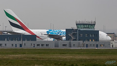 A6-EOF A380-861 Emirates (kw2p) Tags: airlineoperator airport aviation egpf emirates airline aircraft aeroplane airplane kw2p gaaec glasgowairport egpfgla scotland