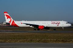 C-FYXF (Air Canada - rouge) (Steelhead 2010) Tags: yyz creg cfyxf aircanada rouge airbus a321 a321200