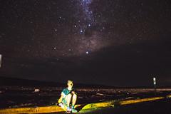 Autorretrato astronómico (Sebaeza) Tags: milkyway milky way via lactea astro astrofotografía astrophotography