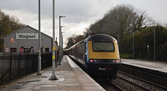 43018 Cambourne 03/04/2019 (Flash_3939) Tags: 43079 43018 class43 hst highspeedtrain gwr greatwesternrailway cambourne cbn station 1c84 fosw rail railway train uk april 2018