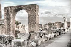 The Civil Forum (RoamingTogether) Tags: 70200vrii europe hdr italy nikon nikon7020028 nikond700 pompeii