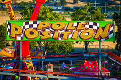 Pole Position (Thomas Hawk) Tags: alamedacounty alamedacountyfair america california countyfair eastbay pleasanton usa unitedstates unitedstatesofamerica fair rollercoaster fav10