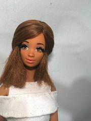 Spanish (boydolly) Tags: spanish barbie doll mattel reroot rebody eyelashes