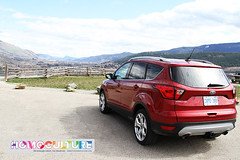 2019 Ford Escape Titanium (HomoCulture) Tags: ford fordcanada fordexplorer candyapplered fordtough blueoval homoculture everydaygay gayculture vernon vernonbc okanagan spring suv 2019