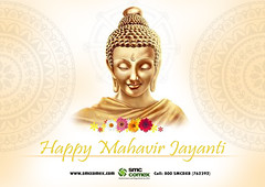 Happy Mahavir Jayanti 2019 - SMC Comex Dubai (smccomex) Tags:
