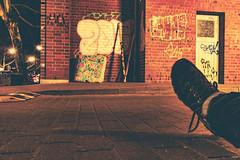 Formidable (Rasande Tyskar) Tags: hamburg schanze nachts night nightshot street urban strase formidable junk müll gosse gutter boot stiefel