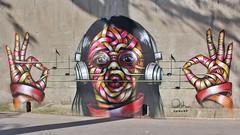 Otto Schade_5701 rue Franc Nohain Paris 13 (meuh1246) Tags: streetart paris13 ottoschade ruefrancnohain paris