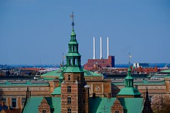 Denmark (ClaDae) Tags: denmark copenhagen church towers scenery scape cityscape europe building