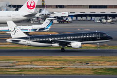 Starflyer Airbus A320-214 JA05MC (Mark Harris photography) Tags: spotting haneda japan canon 5d aviation plane