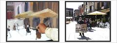 MERCAT DEL RAM-VIC-EMPEZANDO-PINTURA-CUADRO-TERMINADO-PINTANDO-PAISAJES-MERCADOS-AIRE LIBRE-CATALUNYA-FOTOS-PINTOR-ERNEST DESCALS (Ernest Descals) Tags: mercatdelram vic plaçamajor osona barcelona catalunya cataluña catalonia market mercados mercado mercats arquitectura empezar terminar pintura cuadro cuadros pintures pinturas quadre quadres dibujar manchar pincel composicion proceso edificios cafeteries cafeteria gente people movimiento cafeterias terrazas ambiente callejero ciudad ciutat ciutats ciudades pintar pintando pintant aire lliure2 pleinair airelliure airelibre art arte artwork paisatge paisatges paisajeurbano urban landscaping landscape city paint pictures painting paintings drawing brush paisajes paisaje encajar pintors pintor pintores painter painters plastica ernestdescals