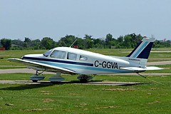 C-GGVA  Piper PA-28-151 Cherokee Warrior [28-7615028] Brampton~C 23/06/2005 (raybarber2) Tags: 287615028 abpic airportdata cn287615028 canadiancivil cggva cnc3 filed flickr planebase raybarber single