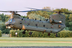 ZK559 - 2015 build Boeing-Vertol Chinook HC.6, evening arrival at Barton (egcc) Tags: barton boeingvertol chinook cityairport egcb hc6 helicopter lightroom m7710 manchester military n710uk raf royalairforce zk559