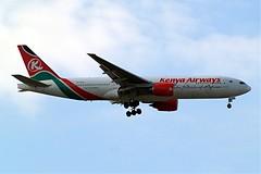 5Y-KQU   Boeing 777-2U8ER [33681] (Kenya Airways) Home~G 17/05/2010 (raybarber2) Tags: 33681 5ykqu abpic airliner airportdata cn33681 egll filed flickr kenyancivil planebase raybarber