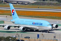A380 HL7622 Los Angeles 22.03.19-2 (jonf45 - 5 million views -Thank you) Tags: airliner civil aircraft jet plane flight aviation lax los angeles international airport klax korean air airbus a380861 hl7622 a380