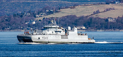 HNoMS Hinnoy - Norwegian Navy Countermeasures Warship. (Ratters1968: Thanks for the Views and Favs:)) Tags: canon7dmk2 martynwraight ratters1968 canon dslr photography digital eos warships ship navy war military fleet faslane greenock cloch jw jointwarrior2019 clyde riverclyde scotland sea water nato exjw19 hnomshinnoy norwegian countermeasures warship hinnoy norway