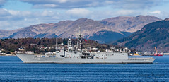 Turkish Navy Frigate TCG Gokova F496 (Ratters1968: Thanks for the Views and Favs:)) Tags: canon7dmk2 martynwraight ratters1968 canon dslr photography digital eos warships ship navy war military fleet faslane greenock cloch jw jointwarrior2019 clyde riverclyde scotland sea water nato exjw19 frigate turkishnavyfrigatetcggokovaf496 f496 turkishnavy turkey turkish gokova