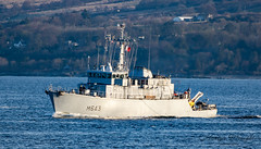 FS Andromede (M643), an Eridan-class minehunter. (Ratters1968: Thanks for the Views and Favs:)) Tags: canon7dmk2 martynwraight ratters1968 canon dslr photography digital eos warships ship navy war military fleet faslane greenock cloch jw jointwarrior2019 clyde riverclyde scotland sea water nato exjw19 fsandromede m643 eridanclassminehunter minesweeper france french andromede