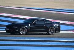 FORD Mustang Coupé Shelby GT500 - 2010 (SASSAchris) Tags: ford mustang coupé shelby gt500 voiture américaine auto 10000 tours castellet circuit ricard