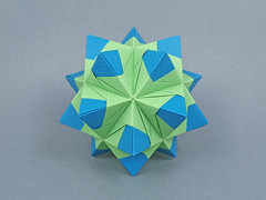 Patterns var. (masha_losk) Tags: kusudama кусудама origamiwork origamiart foliage origami paper paperfolding modularorigami unitorigami модульноеоригами оригами бумага folded symmetry design handmade art