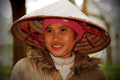 Ninh Binh - Woman (sharko333) Tags: travel reise voyage asia asien asie vietnam ninh binh people portrait woman street olympus em5
