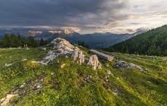 Resting Place (manuel.thaler) Tags: mountain range hill peak rolling landscape hochobir kamnik alps karawanken karavanke carinthia austria