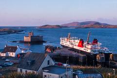 Kisimul Castle, Isle of Barra (Briantc) Tags: scotland isleofbarra barra kisimul castle ferry