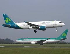 Aer Lingus                                  Airbus A320                                EI-DVN (Flame1958) Tags: 9115 aerlingus aerlingusplane aerlingusnewlivery aerlingusrebranding eidw dublinairport dub 170419 0419 2019 aerlingusplanes aerlingusa320 a320 airbus 320 eidvn eiewr aerlingusa330 a330