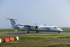 Flybe Dash8 Q400 G-ECOM at Isle of Man EGNS 17/04/19 (IOM Aviation Photography) Tags: flybe dash8 q400 gecom isle man egns 170419
