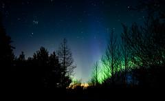 Aurora and Pleiades (robmcrorie) Tags: aurora iceland northern lights pleiades stars long exposure nikon d850