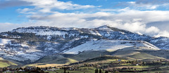 Grizzly Peak (Al Case) Tags: grizzly peak spring snow shadows light landscape panorama nikon d750 nikkor 24120mm f4g ashland oregon al case southern cascade mountain range