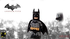 Batman 80: Arkham City Batman (I P R I M E I) Tags: lego batman arkhamknight arkham city dc rocksteady batman80 custom moc