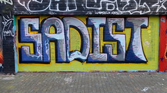 Schuttersveld (oerendhard1) Tags: graffiti streetart urban art rotterdam oerendhard crooswijk schuttersveld sadist