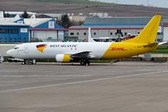 G-JMCR Aberdeen 8 April 2019 (ACW367) Tags: gjmcr boeing 737400f westatlanticcargoairlines aberdeen