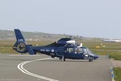 Royal Navy SA365N2 Dauphin 2 ZJ164 at Isle of Man EGNS 17/04/19 (IOM Aviation Photography) Tags: royal navy sa365n2 dauphin 2 zj164 isle man egns 170419