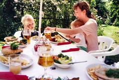 382_OliverLindaEdward (wrightfamilyarchive) Tags: oliver edward linda wright garden summer sunshine 1990s 90s
