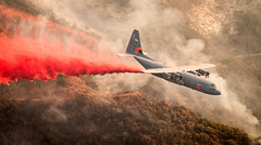 MAFFS (146th Airlift Wing (Official Site)) Tags: airforce airforcenationalguard airmanmagazine c130 fire maffs nationalguard oxnard california unitedstates