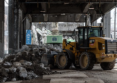 One machine's rubble is another machine's treasure (WSDOT) Tags: seattle gp construction wsdot alaskan way viaduct replacement demolition 2019