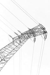 Power (Katzenfutter) Tags: bw blackwhite monochrome power lines nikon z6 35mm