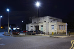 Orchard Veterinary Centre, Holyhead Road, Wednesbury 09/02/2019 (Gary S. Crutchley) Tags: wednesbury sandwell vets veterinary surgery 1930 art deco lloyds bank uk great britain england united kingdom urban town townscape black country blackcountry staffordshire staffs west midlands westmidlands nikon d800 history heritage local night shot nightshot nightphoto nightphotograph image nightimage nightscape time after dark long exposure evening travel street slow shutter raw