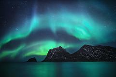 Nova (Jay Daley) Tags: aurora borealis night nightphotography sky universe stars astro longexposure after dark mountains outdoors nature norway arctic sony alpha
