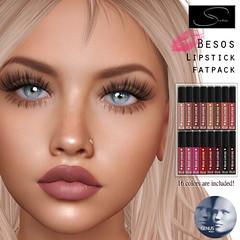 Stellar Besos Lipstick for Genus (Lexi★Morgan) Tags: stellar leximorgan lipappliers lipstick lipgloss secondlife avatar genus meshhead lips makeup