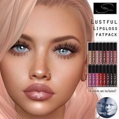 Stellar Lustful Lipgloss for Genus (Lexi★Morgan) Tags: stellar leximorgan lipappliers lipstick lipgloss secondlife avatar genus meshhead lips makeup